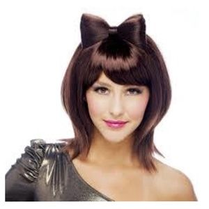 Bow-Tiful Auburn Adult Wig